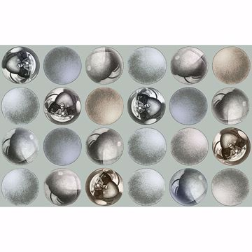 Picture of Mattel Grey Sphere Wallpaper