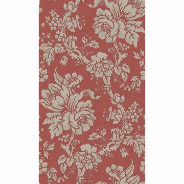 Picture of Yara Red Floral Wallpaper