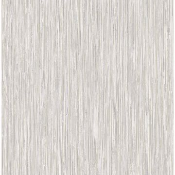 Picture of Kofi Grey Faux Grasscloth Wallpaper