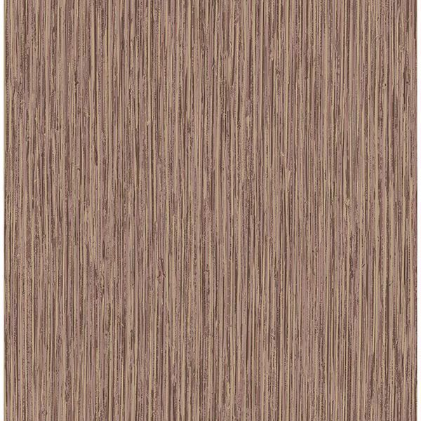 Picture of Kofi Maroon Faux Grasscloth Wallpaper