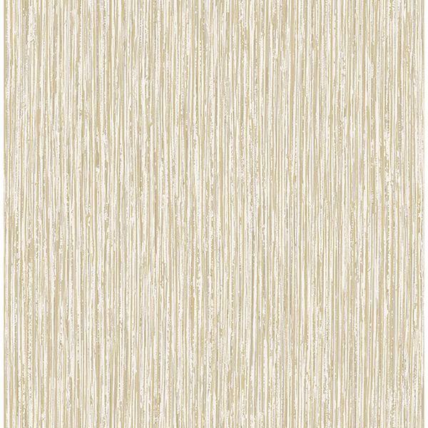 Picture of Kofi Champagne Faux Grasscloth Wallpaper