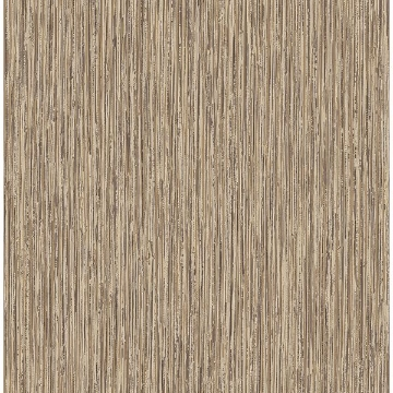 Picture of Kofi Brown Faux Grasscloth Wallpaper