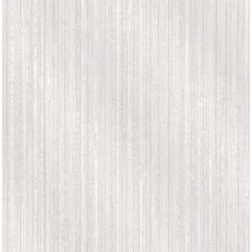 Picture of Bijou White Faux Metal Wallpaper