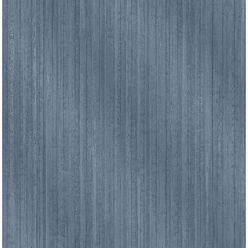 Picture of Bijou Blue Faux Metal Wallpaper
