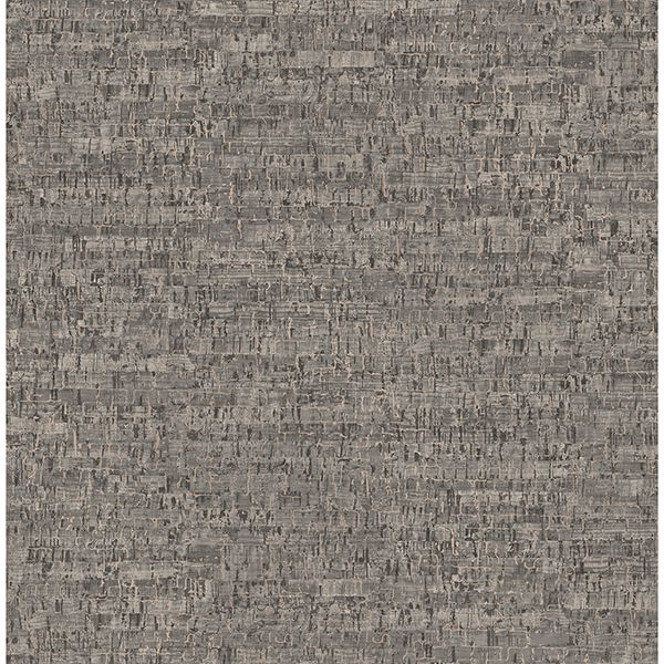 Picture of Henrique Taupe Faux Cork Wallpaper