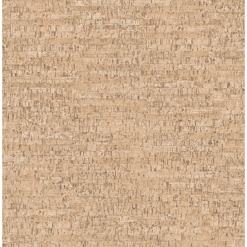 Picture of Henrique Orange Faux Cork Wallpaper
