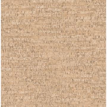 Picture of Henrique Orange Faux Cork Wallpaper