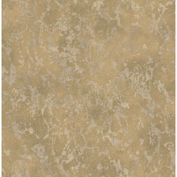 Picture of Imogen Brass Faux Marble Wallpaper