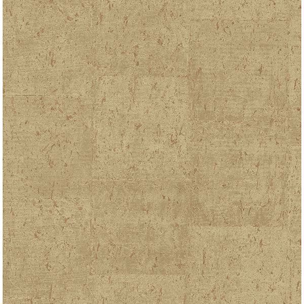 Picture of Jules Light Brown Faux Cork Wallpaper