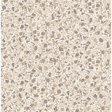 Picture of Aldrich Beige Terrazzo Wallpaper