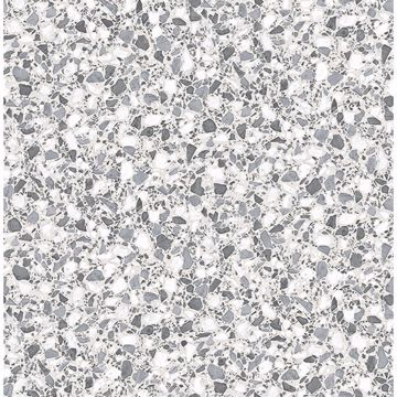 Picture of Aldrich Grey Terrazzo Wallpaper