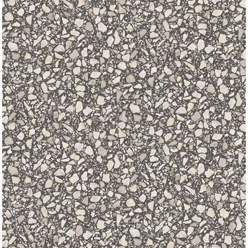 Picture of Aldrich Black Terrazzo Wallpaper