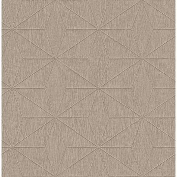 Picture of Bernice Gold Geometric Wallpaper