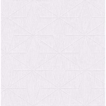 Picture of Bernice White Geometric Wallpaper