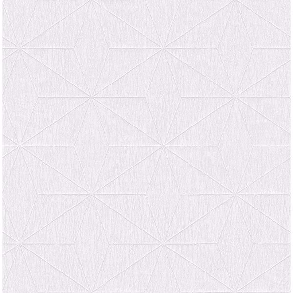 Picture of Bernice White Geometric Wallpaper