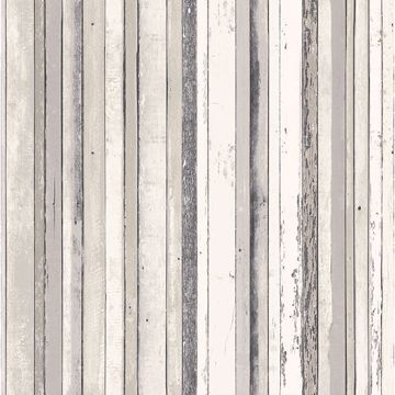 Picture of Bodhi Grey Distressed Stripe Wallpaper