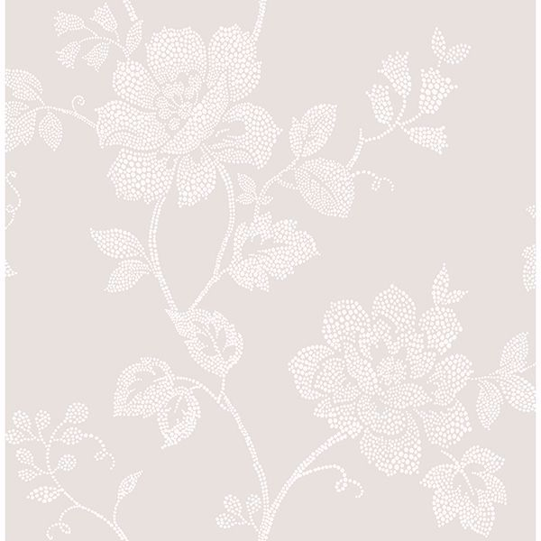 Picture of Leonardo Grey Floral Wallpaper