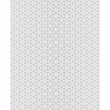 Picture of Whiston Grey Geometric Wallpaper