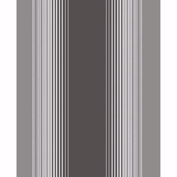 Picture of Stefano Black Stripe Wallpaper