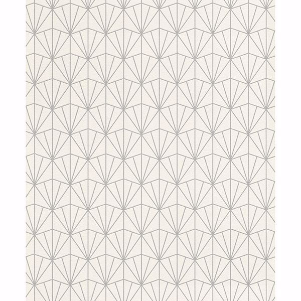 Picture of Frankl Cream Geometric Wallpaper