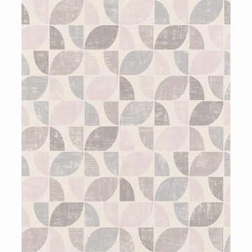 Picture of Dorwin Multicolor Geometric Wallpaper