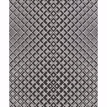 Picture of Perriand Silver Geometric Wallpaper