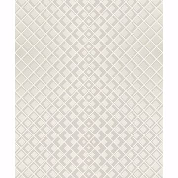 Picture of Perriand Cream Geometric Wallpaper