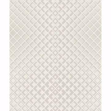 Picture of Perriand Cream Geometric Wallpaper