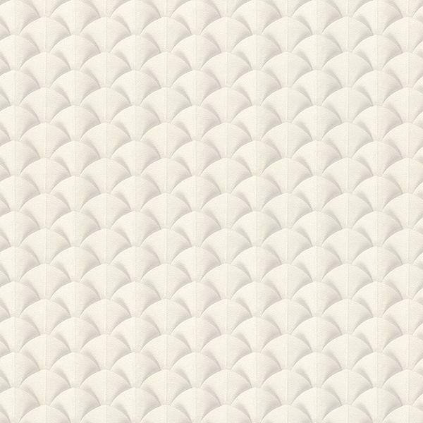 Picture of Lanux Off-White Fan Wallpaper