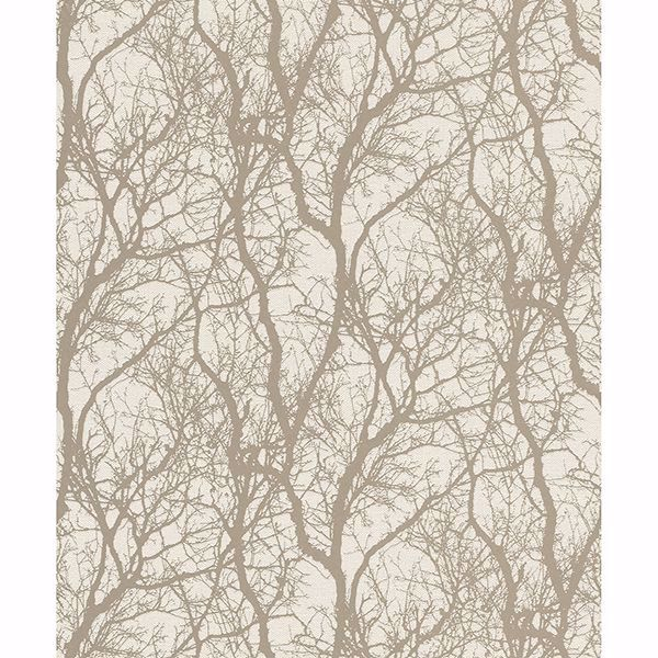 Picture of Wiwen Beige Tree Wallpaper