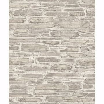 Picture of Cassandre Neutral Stone Wallpaper