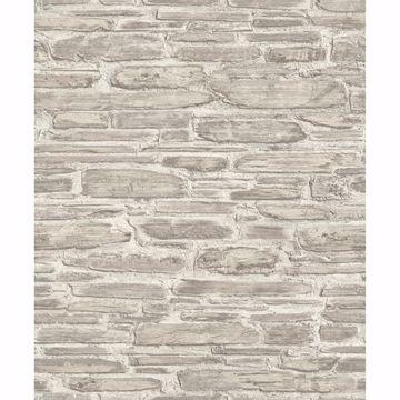 Picture of Cassandre Neutral Stone Wallpaper