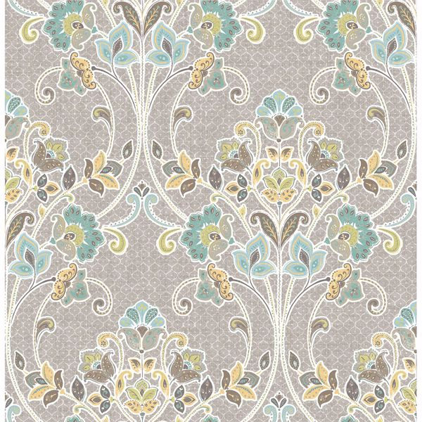 Picture of Willow Grey Nouveau Floral