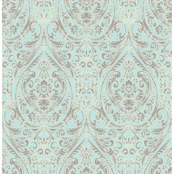 Picture of Gypsy Turquoise  Damask