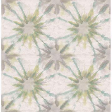 Picture of Iris Turquoise Shibori