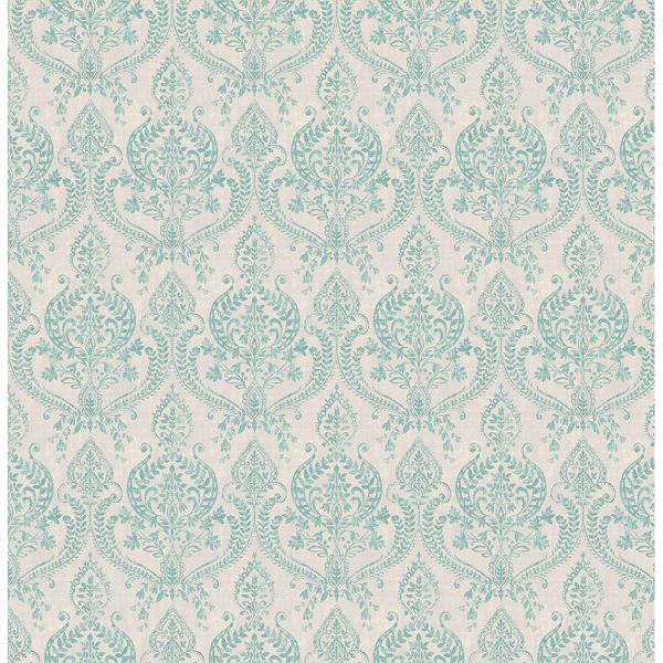 Picture of Isla Turquoise Petite Damask