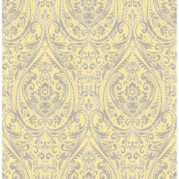 Picture of Gypsy Yellow  Damask