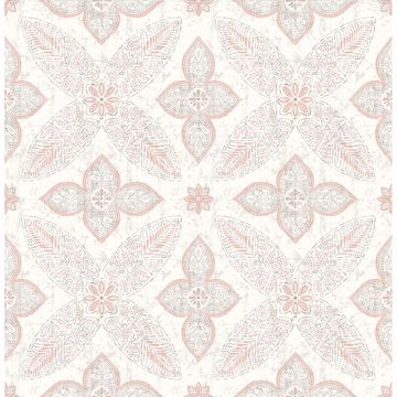 Picture of Off Beat Ethnic Grey Geometric Floral