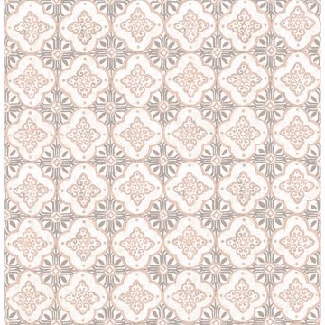 Picture of Geo Pink Quatrefoil