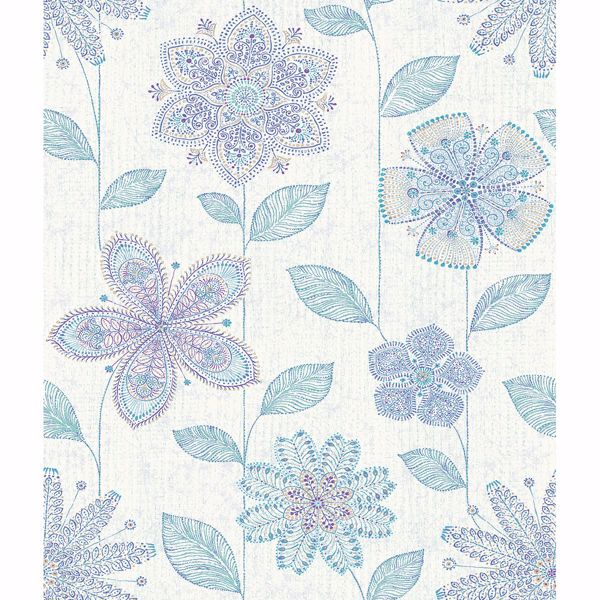 Picture of Maisie Indigo Batik Flower