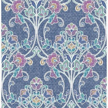 Picture of Willow Indigo Nouveau Floral
