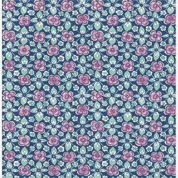 Picture of Free Spirit Indigo Floral
