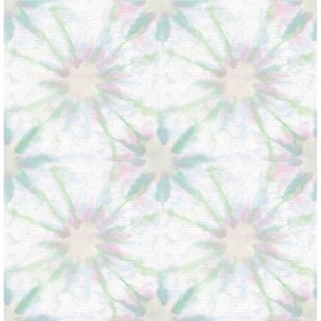 Picture of Iris Green Shibori