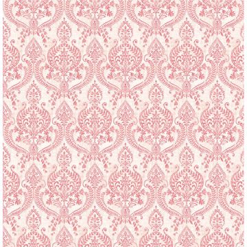Picture of Isla Red Petite Damask