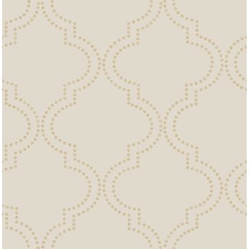Picture of Tetra Beige Quatrefoil