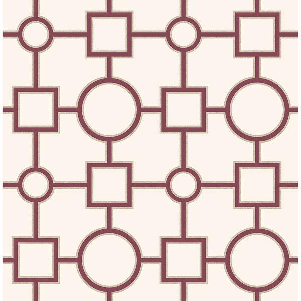 Picture of Matrix Burgundy Geometric