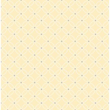 Picture of Kinetic Yellow Geometric Floral