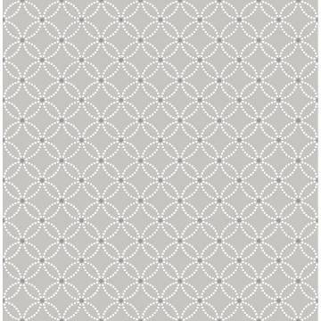 Picture of Kinetic Grey Geometric Floral