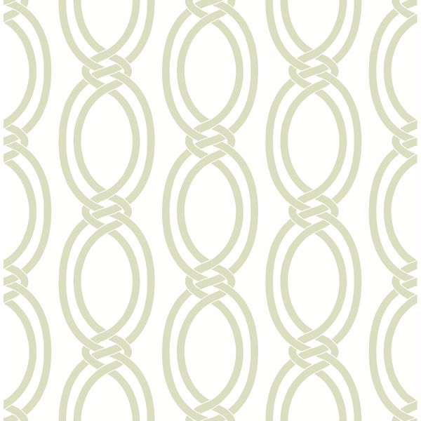 Picture of Infinity Light Green Geometric Stripe