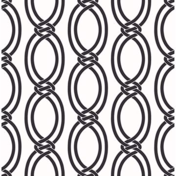 Picture of Infinity Black Geometric Stripe